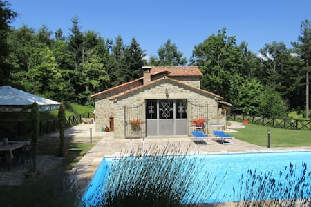 Beautiful villa for 2 nestled in the Tuscan hills. - Caprese Michelangelo