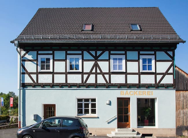 Stylish top floor apartment in the bakery - Fulda - Daire