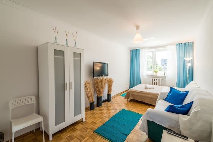 Cozy Room in Downtown ( Rynek ) - Вроцлав - Квартира