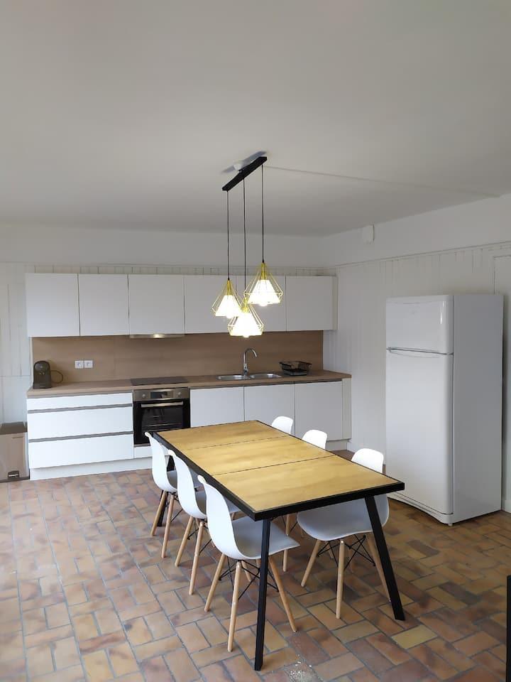 Maison rénovée en hypercentre de Douai