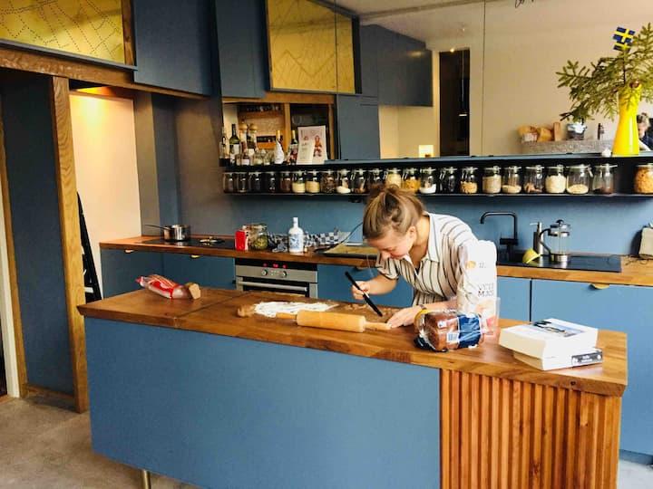 Design caféstyle apartment one of a kind