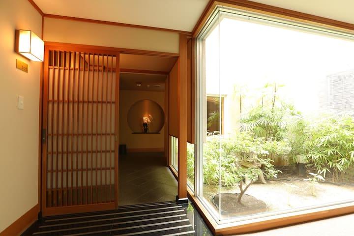 热海隐里,302室,热海车站7分钟,洋室,WIFI,天然温泉大浴场,含早餐