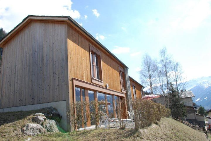 Stella d'abete - casa in legno in Valposchiavo