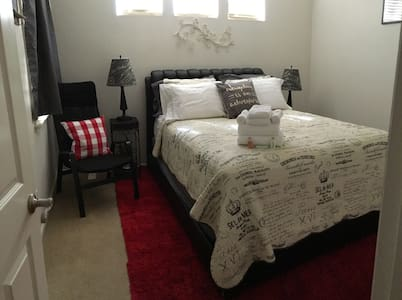 North Modesto - Comfy Queen bed Great for nurses!! - Modesto