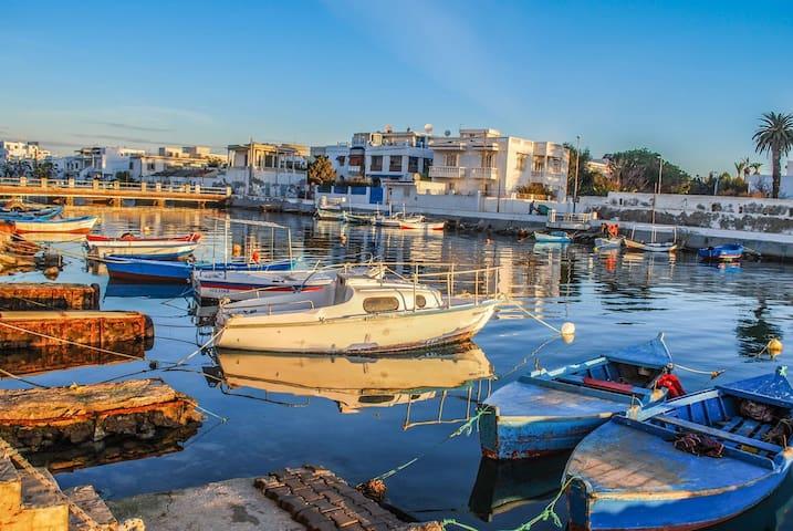 Tunis appartement en front de mer