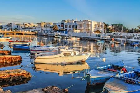 TUNISIE APPARTEMENT CHIC VUE et BORD de MER