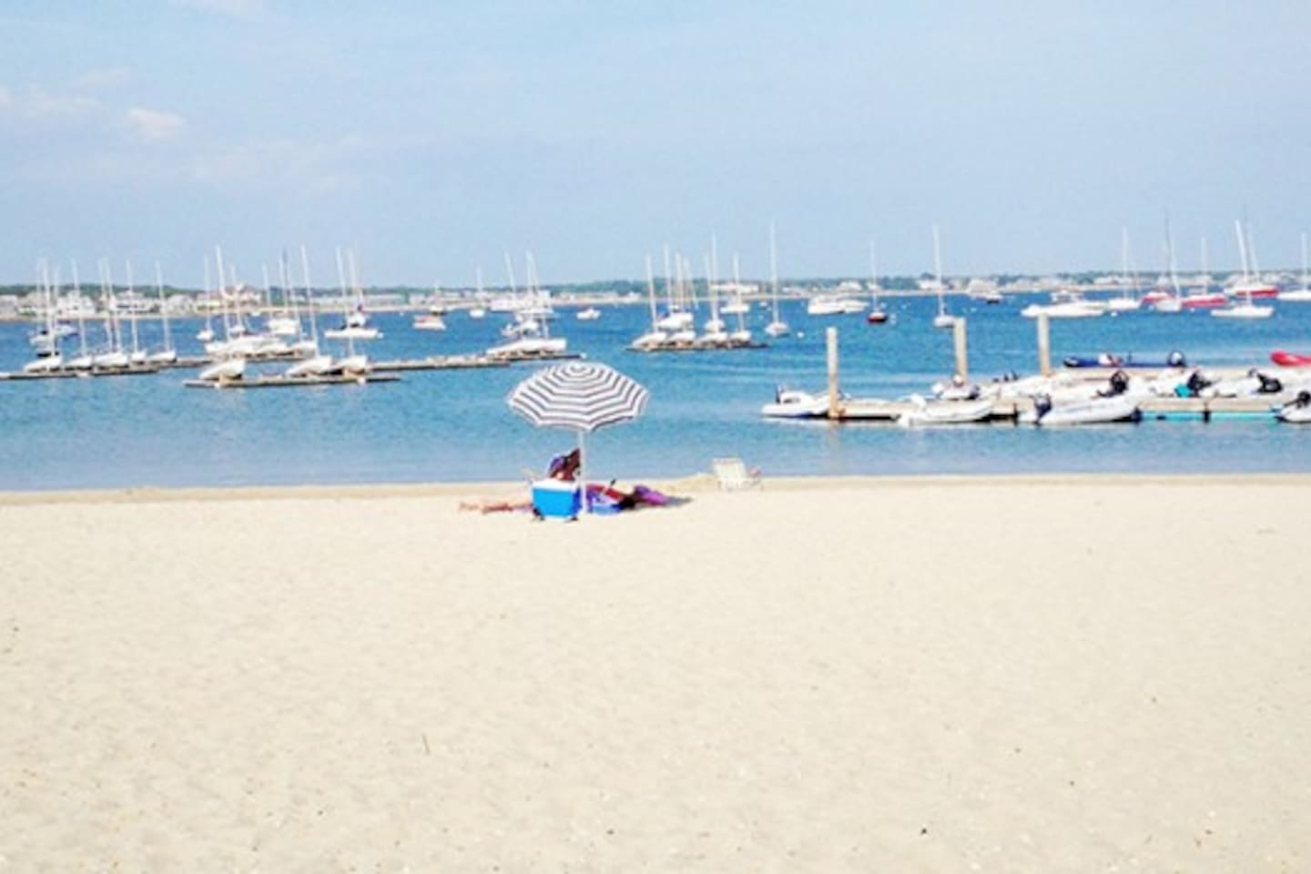 Hyannis Yatch Club - next to the Private Beach