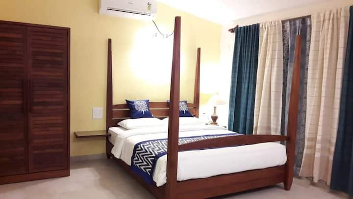Experience like no other Deluxe room at Candolim