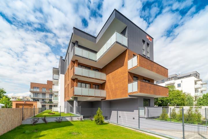 Apartament Lux 45m2 Jaskółcza 30