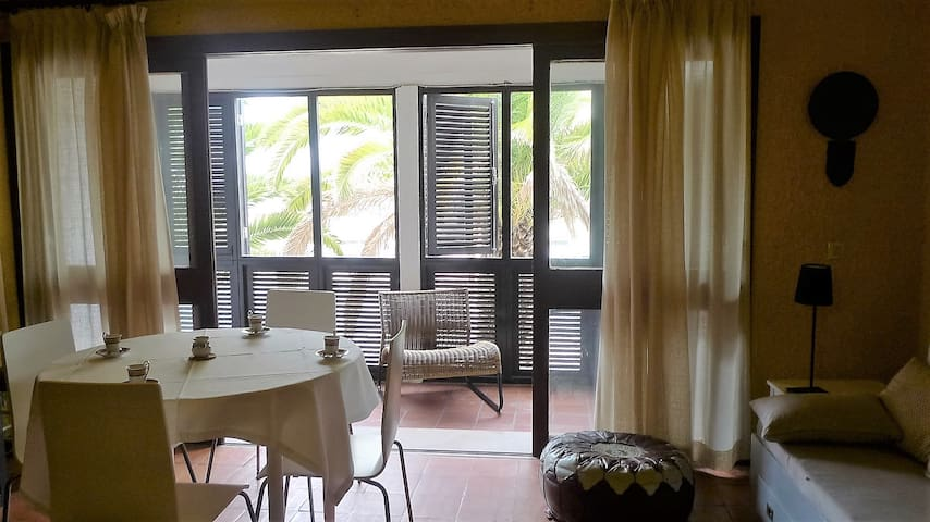 Lovely T2 flat - 650m. / 8min. walk to the beach! - Monte Gordo - Apartamento