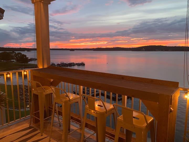 The Sunset Perch at Lake Martin