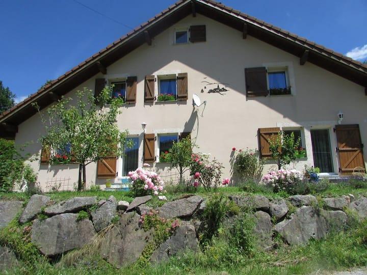 Schönes Haus am Fuße des Ballon d'Alsasse