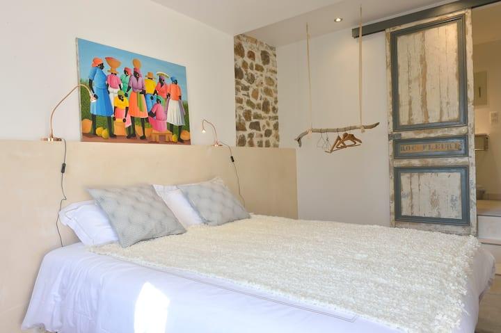 Villa du Roc Fleuri CANNES:  Suite 2 double