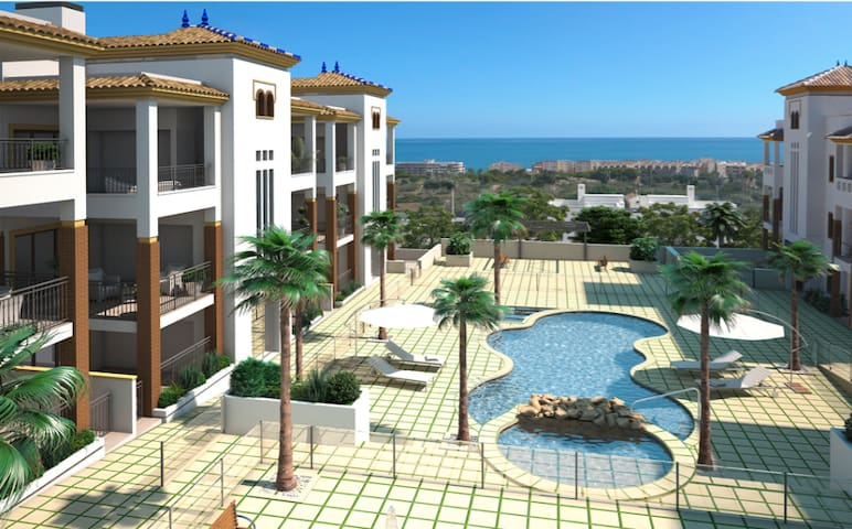 Luxury apartment 3 bedrooms - Los Secanos - Appartement