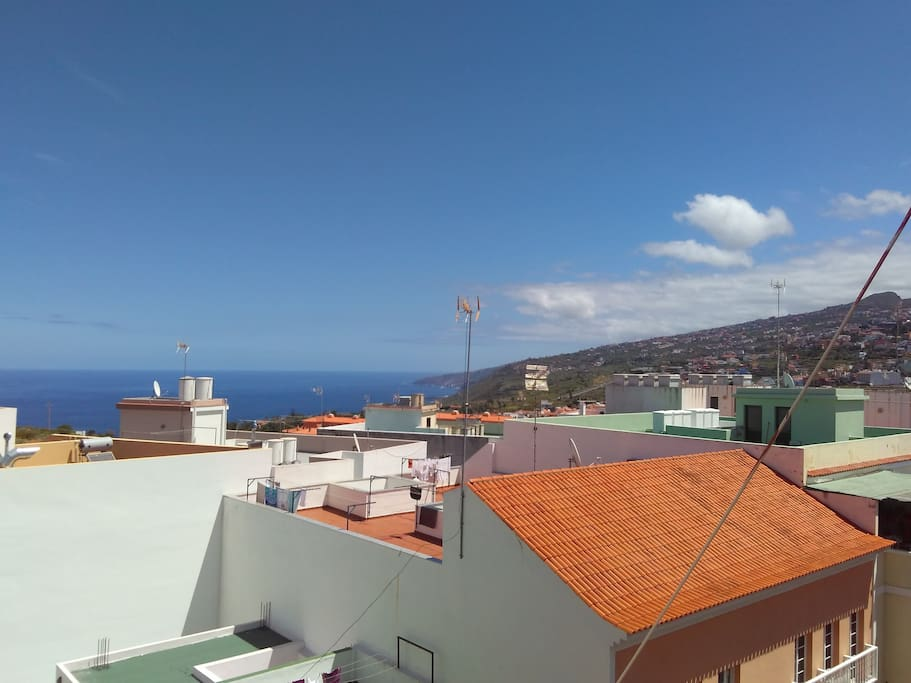 -Blick vom Balkon -view from the balcony