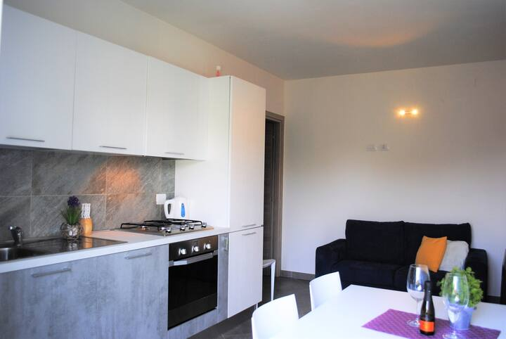 Juelì  3 room apartment close by Malpensa airport with high speed wifi and self check-in