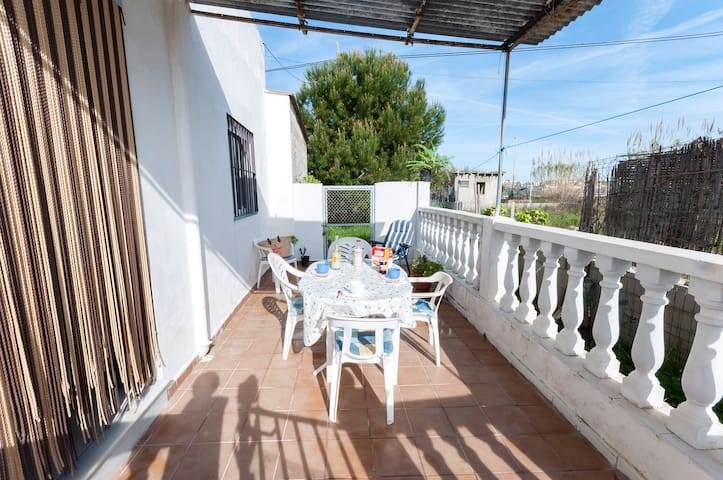 LA PEPA - Chalet for 4 people in Playa Bellreguard. - Playa Bellreguard - House