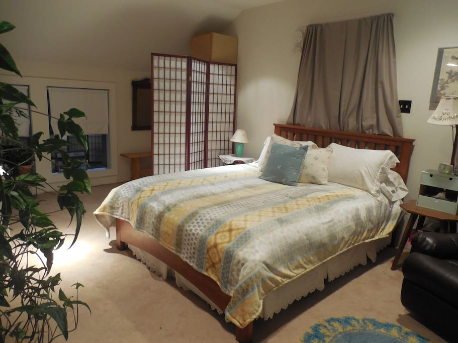 Sweet dreams in comfort with high quality linens.