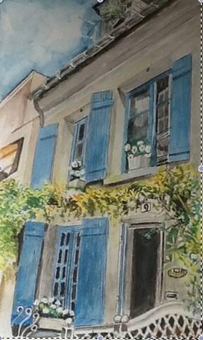 La Guérandière maison de pécheur - Trouville-sur-Mer - House