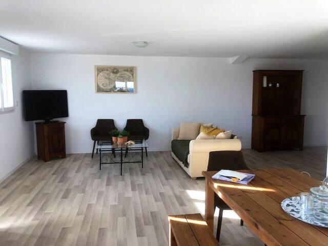Appartement neuf lumineux et confortable