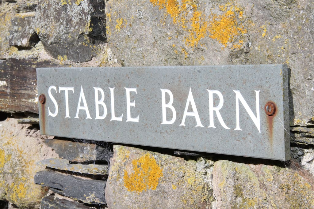 Stable Barn Sign