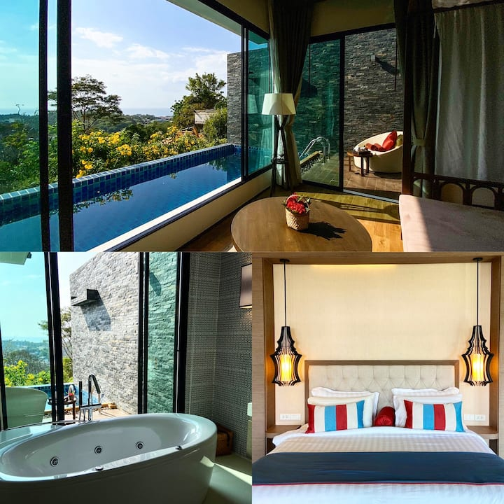 Silla Villa 3 with private pool @ Kata Beach