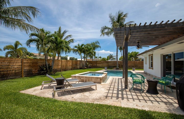 Delray Beach Pool Home Just For You & Yours