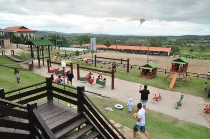 Flat Campo Condomínio Fazenda Monte Castelo