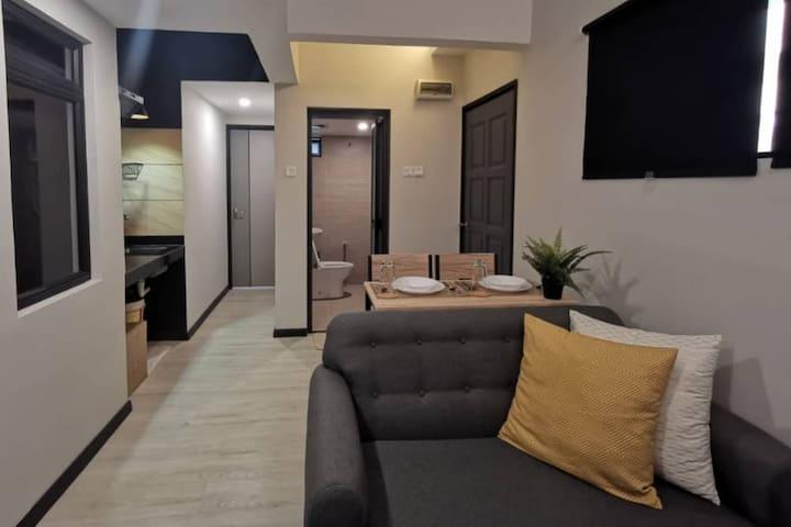 Cheap Long Stay Cozy 1 Bedroom Apartment Near KLCC
