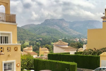 Scenic two bed appt, 6 pax - La Sella Golf Course
