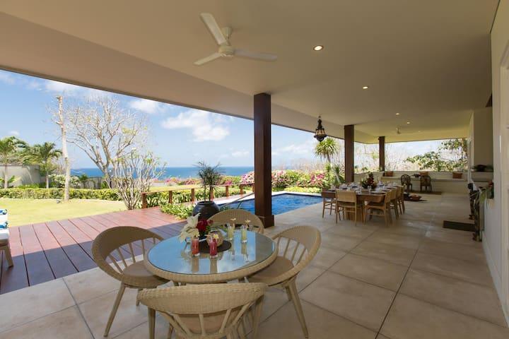 Exclusive 2BR villa with ocean view, Uluwatu