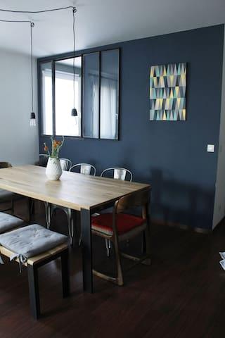 Spacious apartment near Paris - Gennevilliers - Apartment