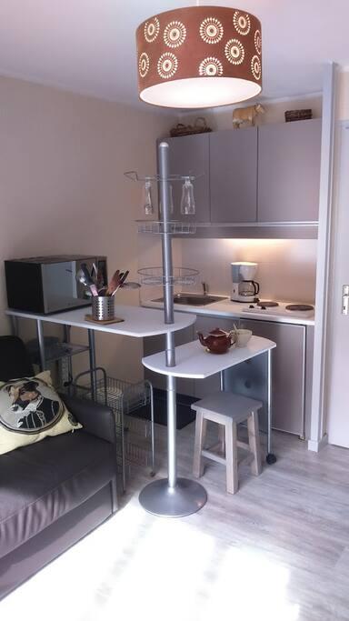 La mini cuisine très modulable