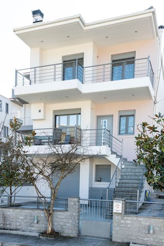 Two  storey villa with private yard