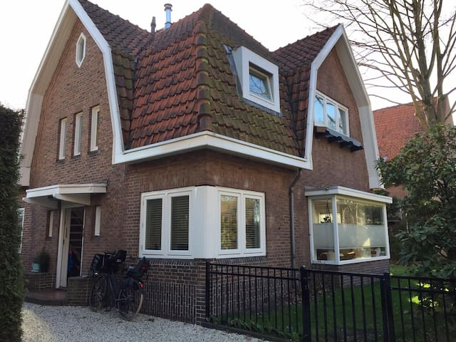 Spacious family home & garden near Amsterdam