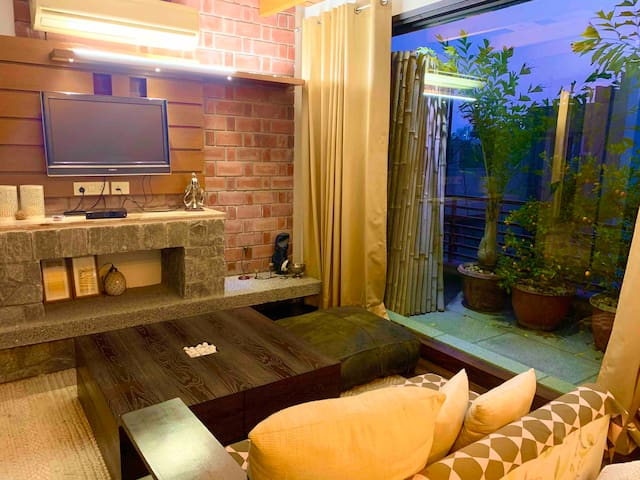 Cozy beautiful green ambience in heart of Gurgaon