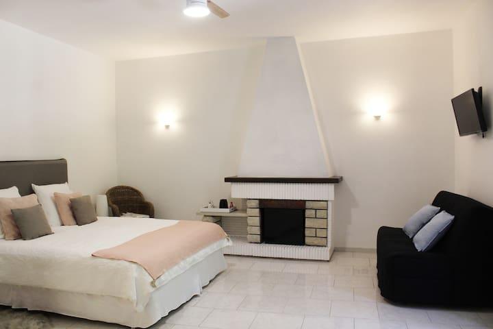 Chambre Ott - 1 lit 180 et un canapé lit