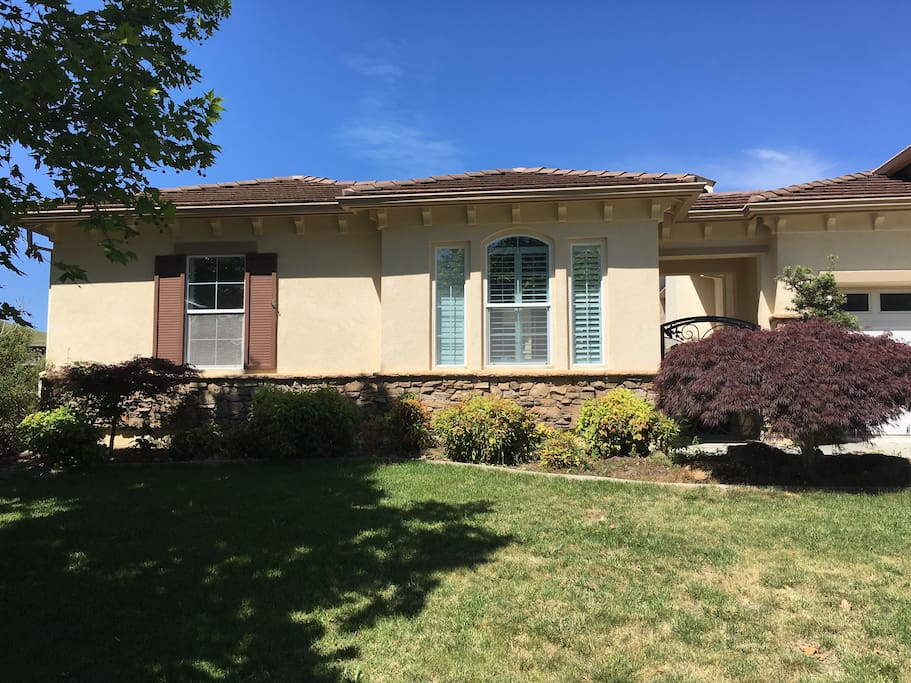 private 4 bedroom home in a gated secure and beautiful neighborhood