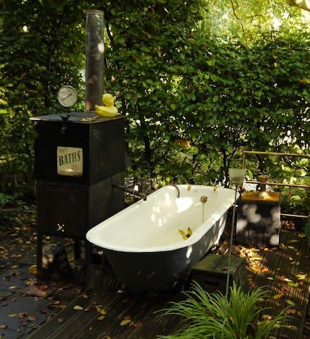 the garden bath