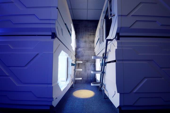 网红店黄山风景区威尔达胶囊国际青年旅舍(景区车站店)单人太空舱7