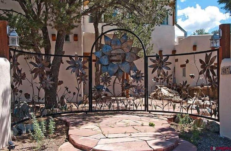 Gorgeous Custom Wrought Iron Entry Gate