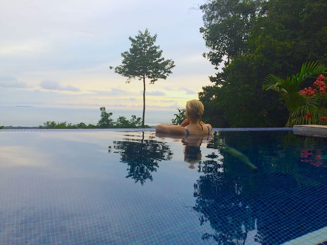 Your private infinity pool.  Serene, calm, cool and hypnotic.
