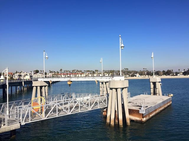 Comfy Apt Blocks from beach - Long Beach - Daire