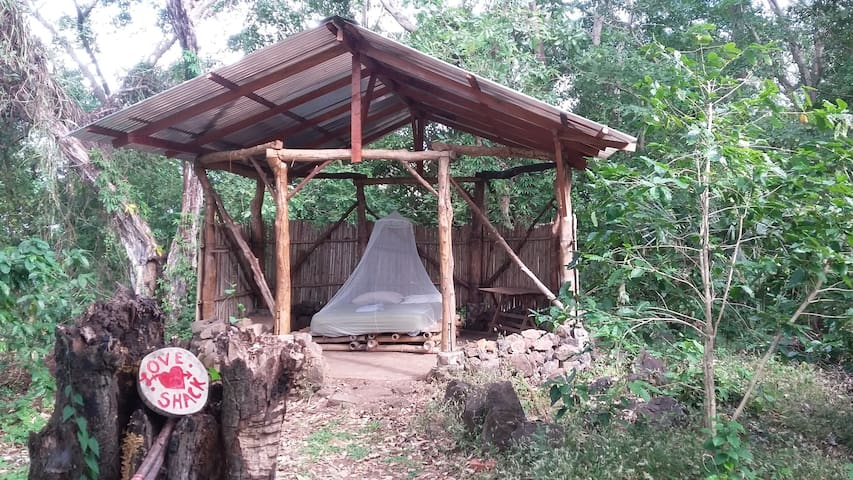 Open-Aired Cabana on a Permaculture Farm
