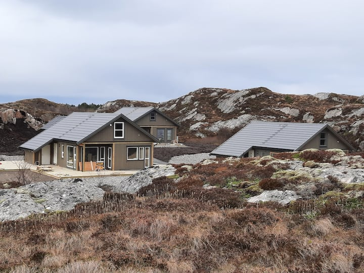 Averøya & Atlantic road. Nice cottage by the sea
