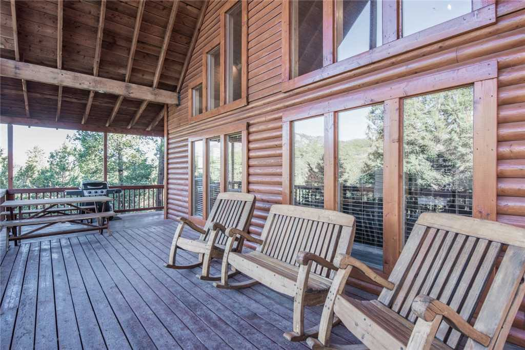 The Great Outdoors - Experience the perfect mountain get-a-way nestled away in the tall pine trees.