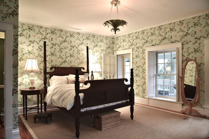 The crown jewel of HD Jameson House, the Master suite. With a private balcony and coffee station.