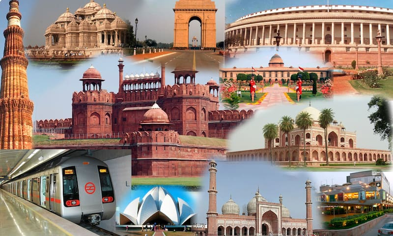 This is Delhi. India's Heart.
