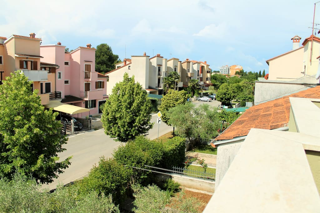 View from terace