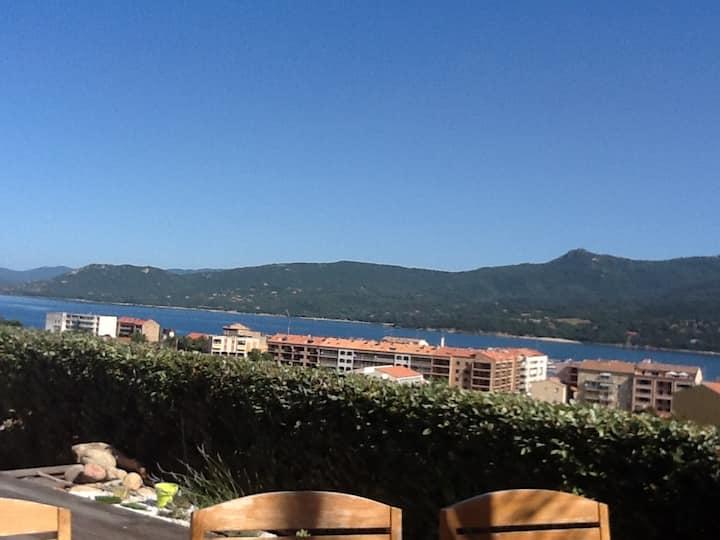 Loue Propriano: Magnifique villa vue mer